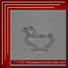 This is a 3 Duck. It is 1 inch high. This cookie cutter is $1.50. Don't forget to like us on Facebook. #CookieCutters #kitchen #Bake #Cookies #Shape #Mold #Dessert #Sugar #TheClassicCookieCutter.com Animal Cookie Cutters, Easter Cookie Cutters, Easter Cookies, Farm Animals, Don't Forget, Sugar, Shapes, Dessert, Facebook