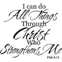 Phil 4:13 I have always wanted this tattoo and hopefully will get it soon