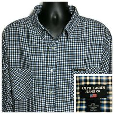 Flannel Clothing, Flannel Outfits, Flannel Shirt, Hipster Style, Hipster Fashion, Southern Drawl, Ralph Lauren Jeans, Big & Tall, Selling On Ebay