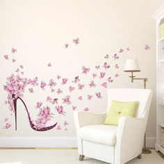 US Butterfly DIY Removable Vinyl Wall Sticker Mural Decal Art Home Room Decor