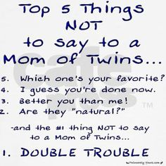 Are they Twins? And other annoying questions we get asked as parents of multiples