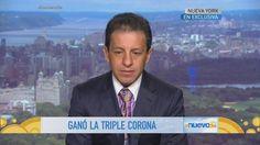 Víctor Espinoza: el primer jinete en alcanzar la triple corona desde 1978 (VIDEO)