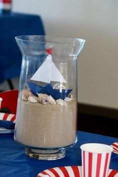 17 Best Nautical Table Centerpieces Images Wedding Centerpieces