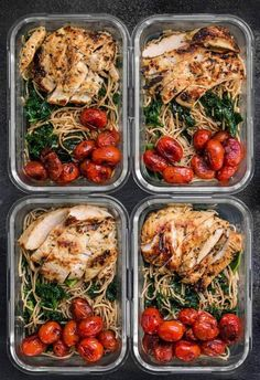 12 Healthy Clean Eating Meal Prep Recipes To Keep Your Diet On Track<br> Clean Eating Recipes for Weight Loss! Meal Prep your way to losing weight with these healthy recipes for meal prep Monday! Clean Eating Dinner, Clean Eating Snacks, Healthy Snacks, Healthy Eating, Dessert Healthy, Breakfast Healthy, Dinner Healthy, Easy Healthy Meal Prep, Clean Lunches