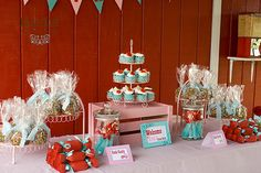 Girlie Farm Party Birthday Party Ideas | Photo 1 of 32 | Catch My Party