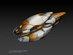 More work done for Oxide Games' upcoming title 'Ashes of the Singularity!' The two concepts (Assault Frigate) sort of represent a new personal bar, and the culmination of a few techniques I'v...