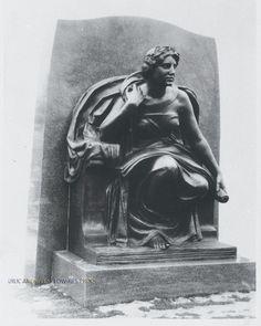 """Foote Memorial (Jackson, MI), 10"""" x 7.5"""", 1923."""