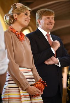 On November 3, 2016, King Willem-Alexander and Queen Maxima of The Netherlands visited Cockatoo Island in Sydney, Austalia. They also attend the Food Bytes Award ceremony and see three displays of innovative concepts of farm-to-fork and visit at Smart Cities and UNESCO World PEM Holland Hub. Dutch Royal couple attend meeting with Governor Hurley of the New South Wales Australian.
