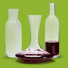 Nothing says celebrate like a few wine-worthy carafes on display. From @crateandbarrel