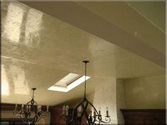 Polished Grassello Ceiling: Veneshe Master Venetian Plastering