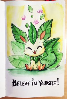 160226 Beleaf In Yourself by fablefire.deviantart.com on @DeviantArt