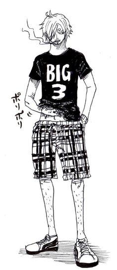Sanji one piece♥