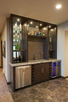 Basement Wet Bar Design Ideas, Pictures, Remodel, and Decor - page 16