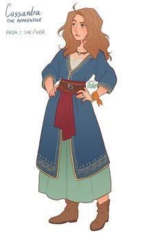"""fdevitart: """"Obviously I had to create my version of the Apprentice from """"The Arcana"""" game yesterday evening after studying. So yeah, Cassandra (because obviously I couldn't help but insert a mythology reference): I made her very similar to me, except. Fantasy Character Design, Character Creation, Character Drawing, Character Design Inspiration, Character Concept, Concept Art, Dnd Characters, Fantasy Characters, Female Characters"""