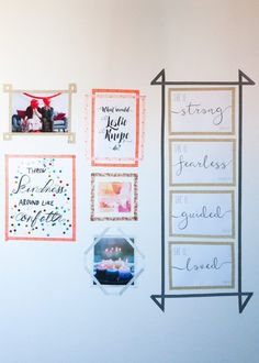Washi tape gallery wall DIYs are great for dorm decoration! Washi tape gallery wall DIYs are great for dorm decoration! The post Washi tape gallery wall DIYs are great for dorm decoration! appeared first on House.