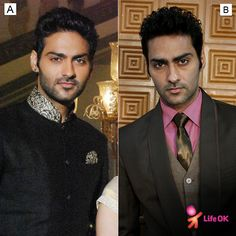 Which look suits Agam?  a. India  b. Western