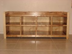 Ikea Bank Ideen Build ideas for shoe storage benches # build # for # shoe storage benches Build Shoe Storage, Wooden Storage Bench, Bench With Shoe Storage, Built In Bench, Wooden Benches, Shoe Cubby, Shoe Shelves, Shelving, Homemade Shoe Rack