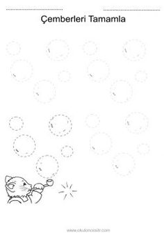Daire çalışma sayfası. Free circle worksheets download printable ...