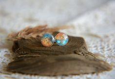 Little stud earrings sterling silver studs posts by BalanceAtelier