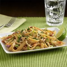 I made this 'Thai' Peanut Noodles from ReadySetEat. Try the recipe at http://www.readyseteat.com/recipes-Thai-Peanut-Noodles-6752.html