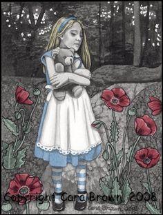 Alice in Wonderland Art