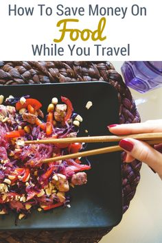 We want to see the world but the costs soon add up. Never one to skimp on the 'full' experience I'm always looking to try new things and stay in budget. Which is exactly why I've come out with this complete guide on how to save money on food while you travel.