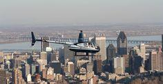 Tour de helicóptero em Montreal #viagem #canada #viajar