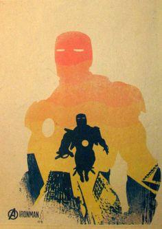Постер к фильму Железный человек :: Интернет-магазин дизайнерских постеров