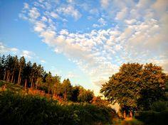 #Morgens in #Iserlohn #vielzufrüh #Wolken #Himmel #Stadtwald #Wald