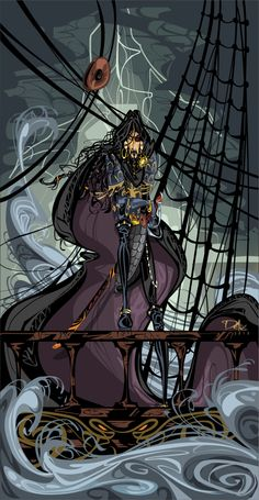 Euron Greyjoy, The Crow's Eye by dejan-delic.deviantart.com on @deviantART