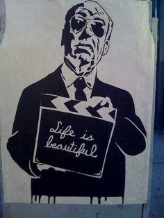 "The best! Mr. Brainwash in Los Angeles ""Life Is Beautiful"""