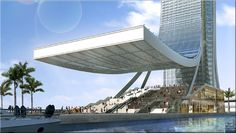 SOLAR UNIVERSE in Miami, Florida - a self-sufficient, vertical, energy structure that will be operating on alternative energies such as: SOLAR, WIND, HYDRO, BIOMASS.