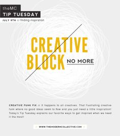 Creative Funk Fix // Tip Tuesday | The Modern Collective