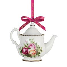 I pinned this Teapot Ornament from the Royal Albert event at Joss and Main!
