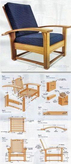 Morris Chair Plans - Furniture Plans and Projects | WoodArchivist.com