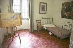 The room of Van Gogh. Maison de sante Saint-Paul de Mausole, Saint-Remy-de-Provence