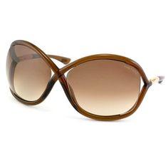 99de4c100ca Shop Tom Ford Women s  TF009 Whitney 692  Brown Plastic Fashion Sunglasses  - Free Shipping