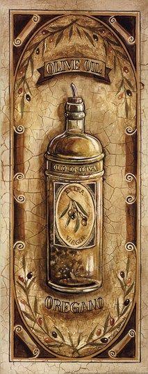 Olive Oil - Oregano by Gregory Gorham art print