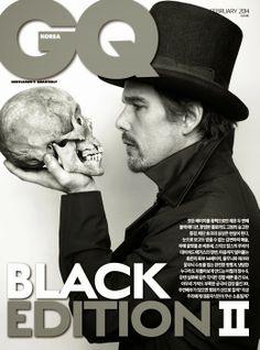 Ethan Hawke en portada de GQ Korea Febrero 2014 | Male Fashion Trends