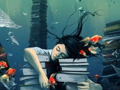 Beautiful Fantasy-Filled Digital Paintings by Cyril Rolando - My Modern Met (writing prompts)