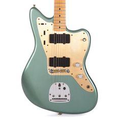 Metallic Bodies, Green Electric, Pickup Covers, Vintage Numbers, Drum Heads, Music Machine, Cool Electric Guitars, Fender Custom Shop, Drum Kits