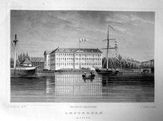 Amsterdam-Marine | Herkomst : J.L. Terwen - Het Koningrijk der Nederlanden, afm. 14 x 20 cm Staalgravure 1860