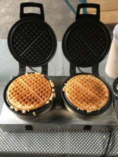 Goat's milk waffles from The Greedy Goat