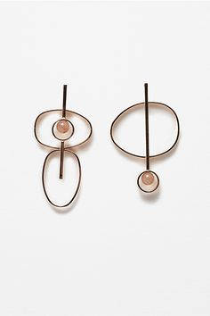 Minimal Dangly Earrings - Jewelry Trends More
