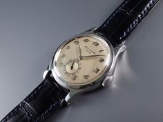 ref.2451 SS cal.10-200 1950y  with breguet numerals