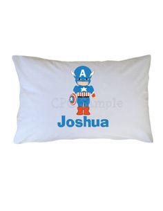 America Superhero Personalized PillowCase