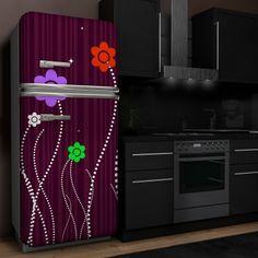 die besten 25 k hlschrank aufkleber ideen auf pinterest k hlschrankdekoration retro. Black Bedroom Furniture Sets. Home Design Ideas