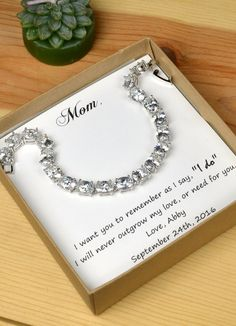 Gift for mother of the Bride