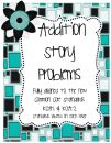 Addition Story Problems aligned to Common Core {Freebie} product from Little-Minds-at-Work on TeachersNotebook.com