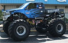 Bigfoot – The Original Monster Truck Ford Pickup Trucks, 4x4 Trucks, Chevrolet Trucks, Cool Trucks, 1957 Chevrolet, Diesel Trucks, Chevrolet Impala, Lifted Trucks, Chevy
